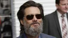 Jim Carrey leaves David Letterman's last show