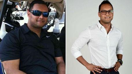 Before and after photos show Al Badsha, 31,