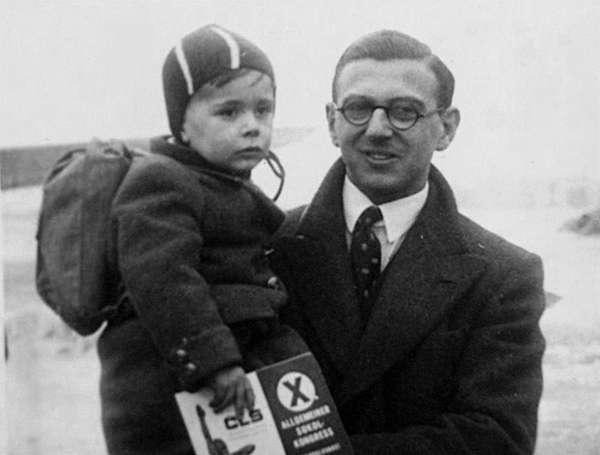 Nicholas Winton, an Englishman who organized the rescue