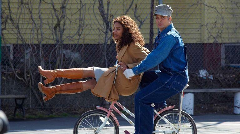 Zoe Saldana, left, and Mark Ruffalo star in
