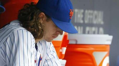 Jacob deGrom #48 of the New York Mets