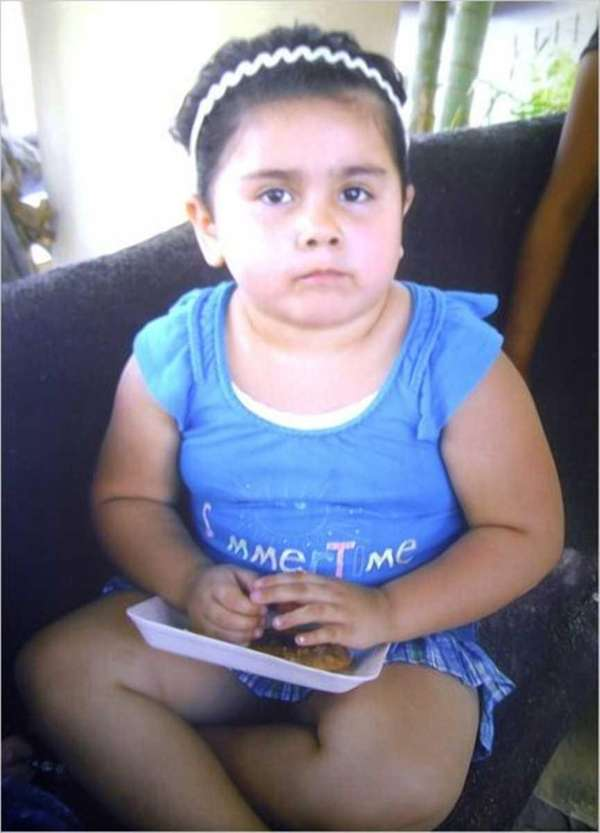 Emily Ruiz, 4, was returning to Brentwood from