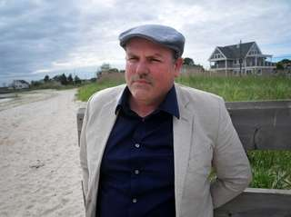Author Matthew McGevna on a South Shore beach.