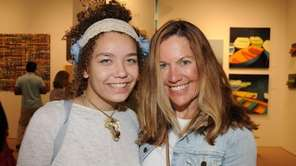 Sara Howard and Barbara Jo attend the opening