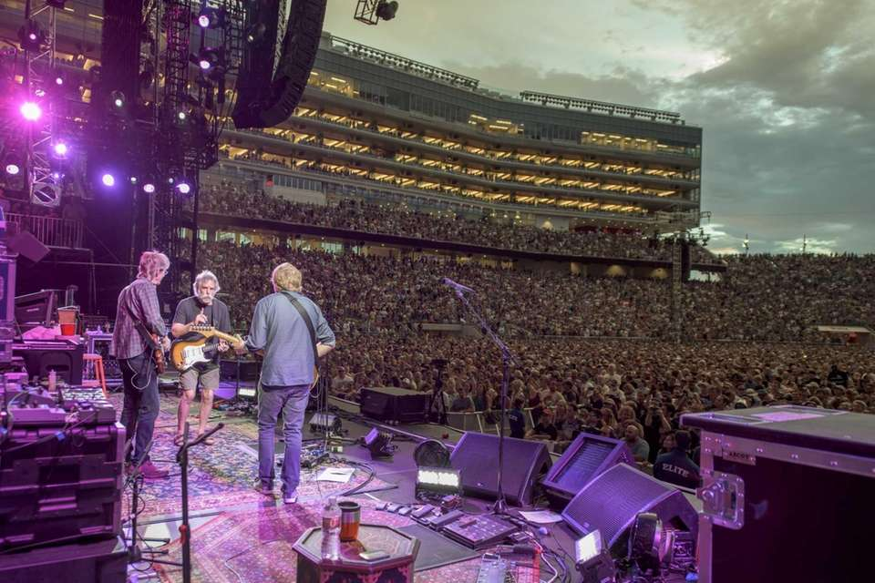 The Grateful Dead performs at Levi's Stadium on
