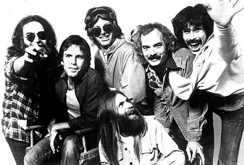 The Grateful Dead in an undated publicity shot