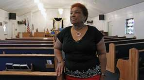 The Rev. Sallie Lloyd, pastor of the New