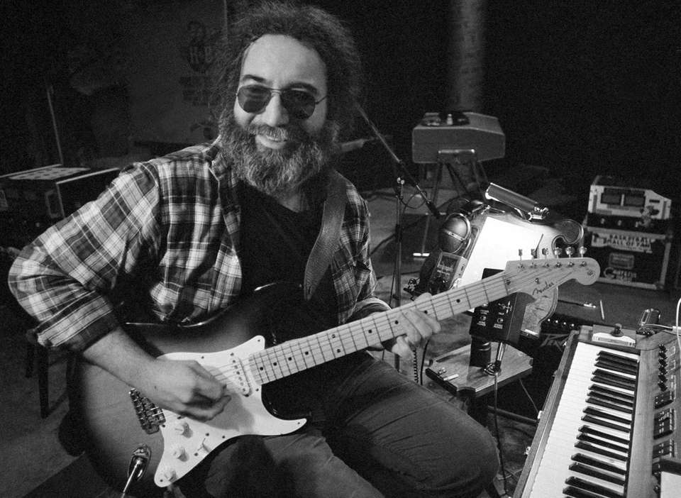 Jerry Garcia on May 8, 1979.