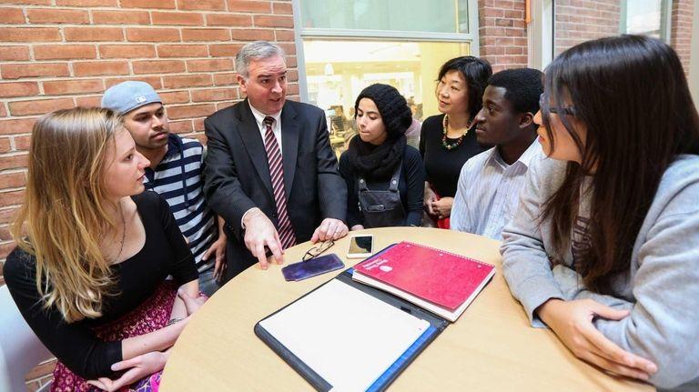 Matt Whelan, provost for enrollment and retention management