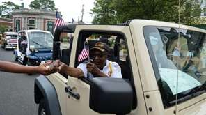 World War II veteran Elijah McKelvin, of Amityville,
