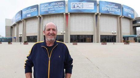 Donald Every, head usher at the Nassau Coliseum,