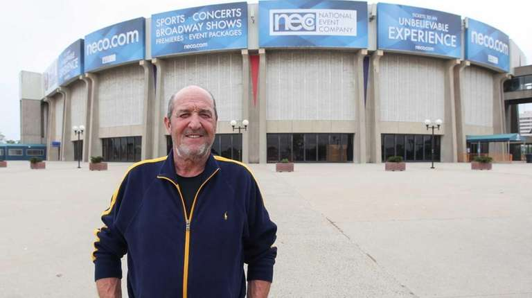 Donald Every, head usher at the Nassau Coliseum,