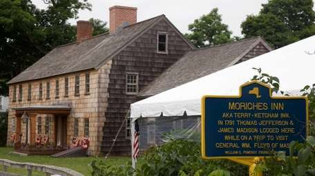 The Ketcham Inn in Center Moriches, July 4,