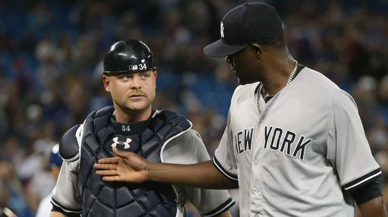 Michael Pineda of the New York Yankees talks