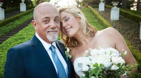 Billy Joel and Alexis Roderick get married on