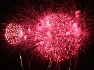 Fireworks at Jones Beach on Saturday, July 4,