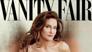 Jenner poses on the cover of Vanity Fair