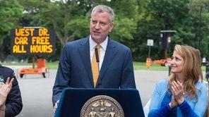 Mayor Bill de Blasio announced Thursday, June 18,