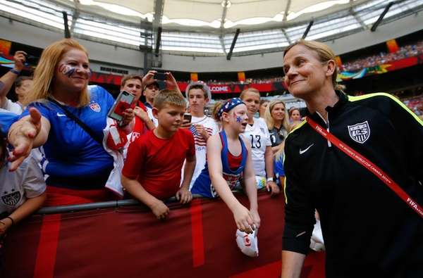 Head coach Jill Ellis of the United States