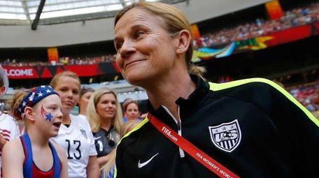 Head coach Jill Ellis of the United States
