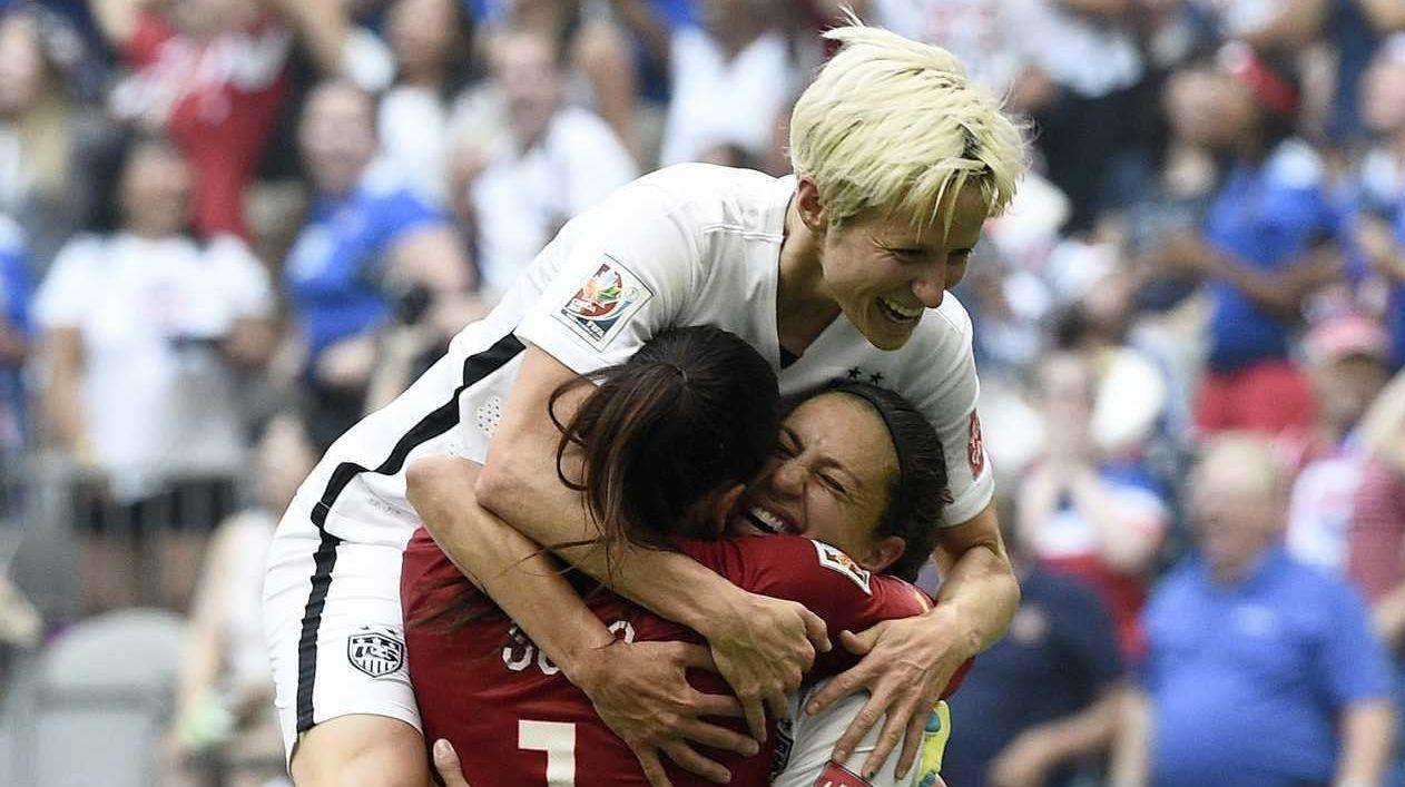 Women in sports in 2015