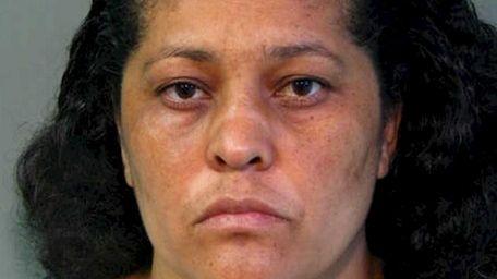Elsa Marina Saravia-Martinez, 34, of Hempstead, was arrested