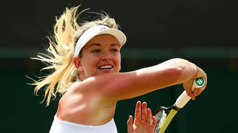 Coco Vandeweghe of the United States plays a