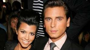 Kourtney Kardashian and Scott Disick.