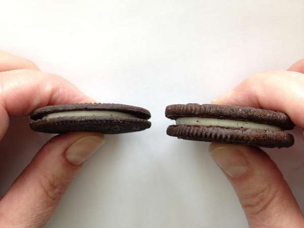New Oreo Thins are almost half as thin