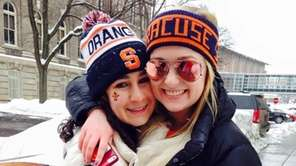 Syracuse University student Elissa Candiotti of Hewlett enjoys