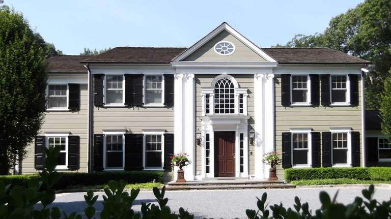 This Oyster Bay home, on the market in