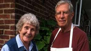 Valerie Skelly and her husband of 56 years,