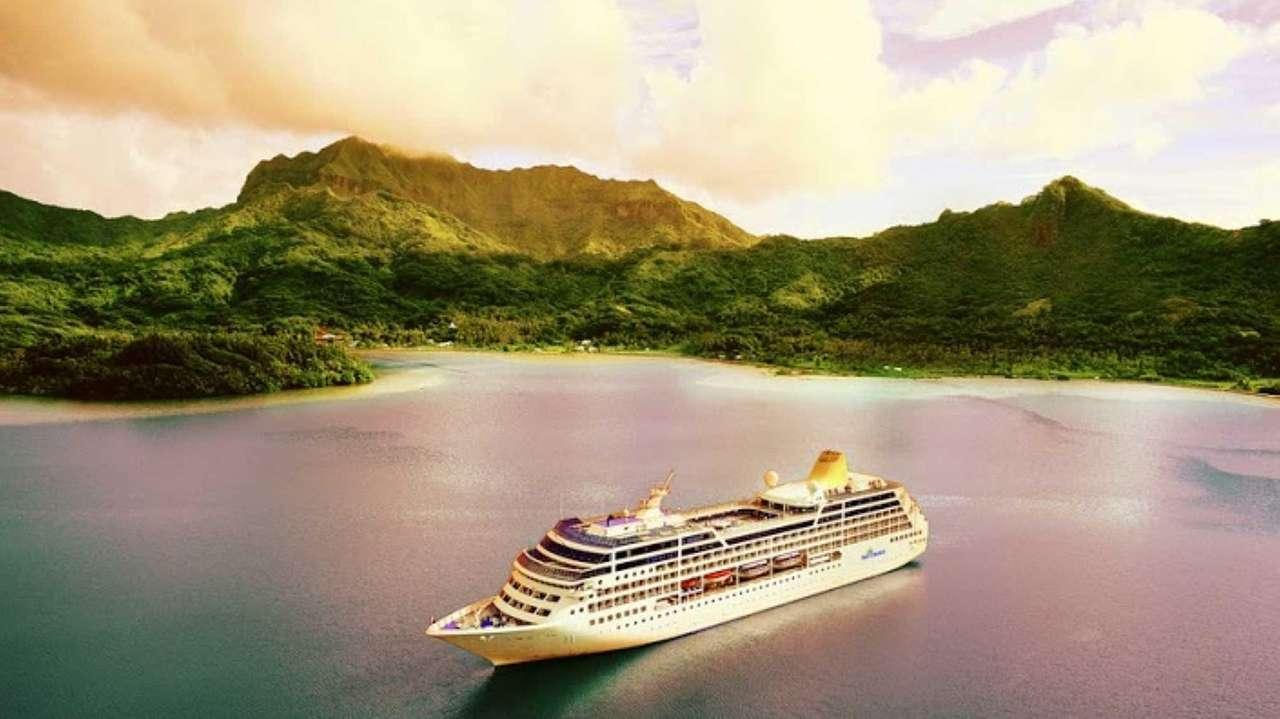 The Adonia, a 710-passenger ship that is part