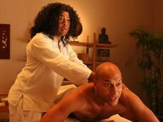 Jordan Peele, left, and Keegan-Michael Key in season