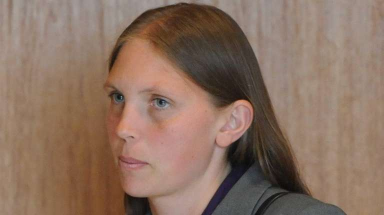 Kimberly Lappe, who is charged with ignoring audible