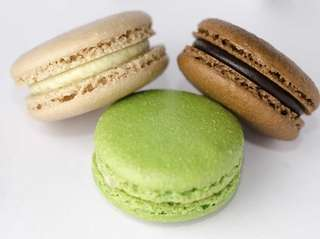 Scott Krevat, AKA The Bearded Baker, makes macarons