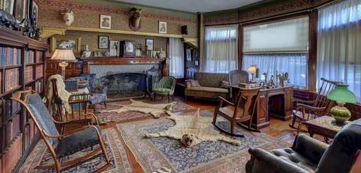 Teddy Roosevelt's passion for hunting is apparent in