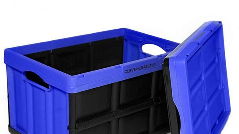 The collapsible Clever Crates come in six sizes