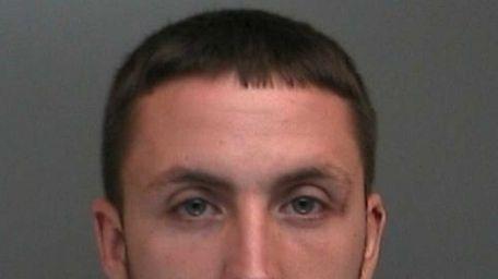 Christopher Rios, 25, of Massapequa Park, was arrested