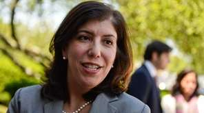 Acting Nassau District Attorney Madeline Singas, seen in