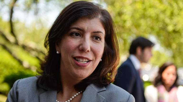 Acting Nassau District Attorney Madeline Singas, seen in