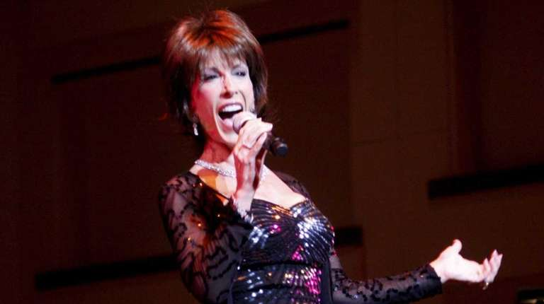 Deana Martin performs a concert featuring the songs