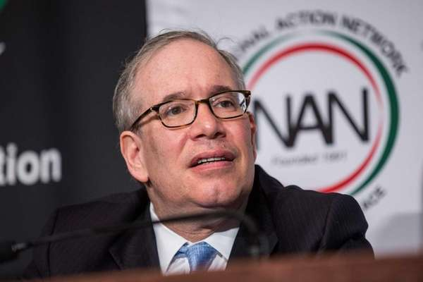 New York City Comptroller Scott Stringer attends the