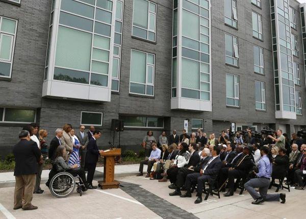 Housing and Urban Development Secretary Julian Castro announces