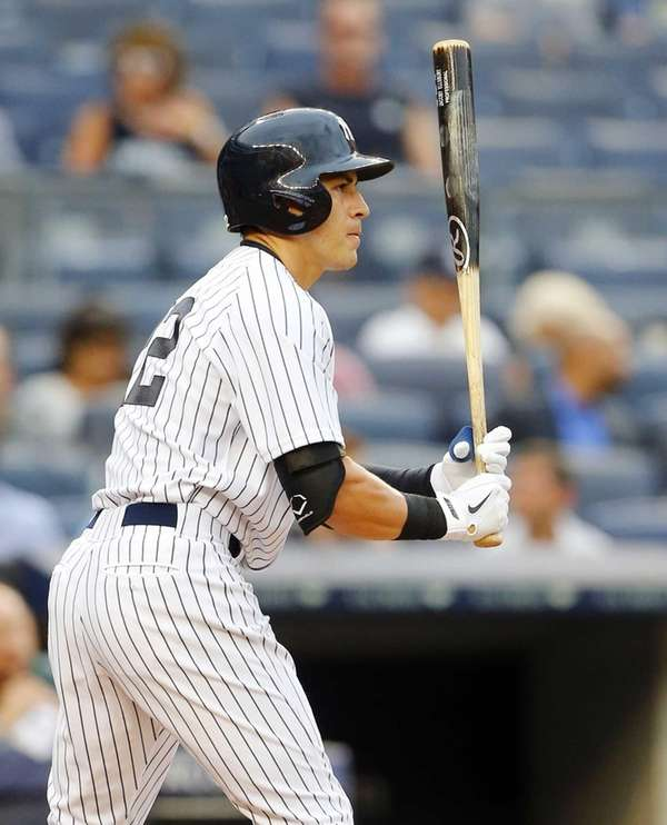 Jacoby Ellsbury of the New York Yankees bats