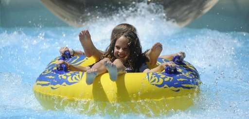 Splish Splash in Calverton features 20 water slides