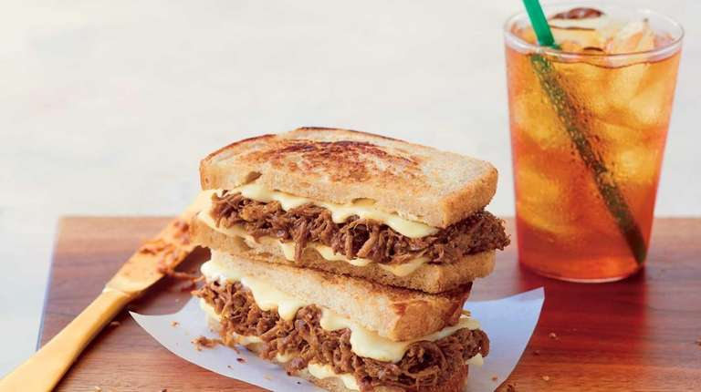 The new BBQ beef brisket on sourdough at