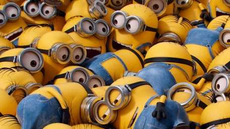 Minions, Minions and more Minions in