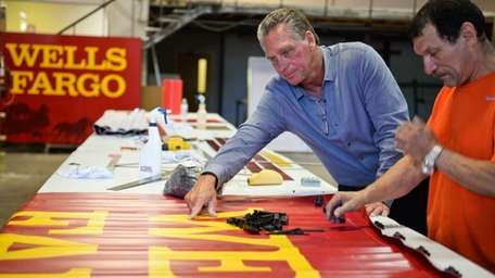 Jeff Petersen, CEO and president of American Signcrafters,
