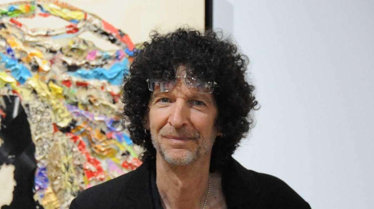 Howard Stern attends the Art Southampton VIP first